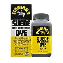Fiebings Suede & Nubuck Shoe Boot Dye 4oz Black