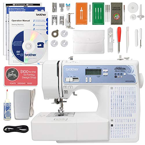 Brother Project RunwayMuVit Limited Edition Computerized Sewing Machine Bundle