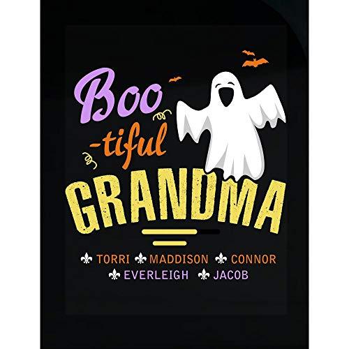 URBANTURB Halloween Bootiful Grandma Torri Maddison - Transparent Sticker -