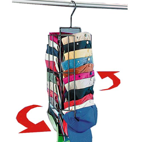 amazon hanging cap rack it spins and holds up to caps closet storage organization products everything else baseball hat over the door racks