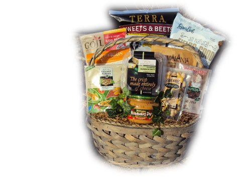 Support Staff Healthy Thank You Gift Basket for Administrative Professional's Day by Well Baskets by Well Baskets