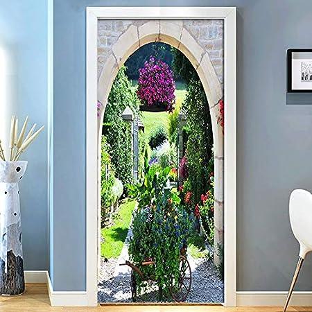 DOORWP Etiqueta de la Puerta de Bricolaje Mediterráneo ...