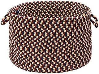 product image for Colonial Mills Stable Hill Burgundy Colored Basket