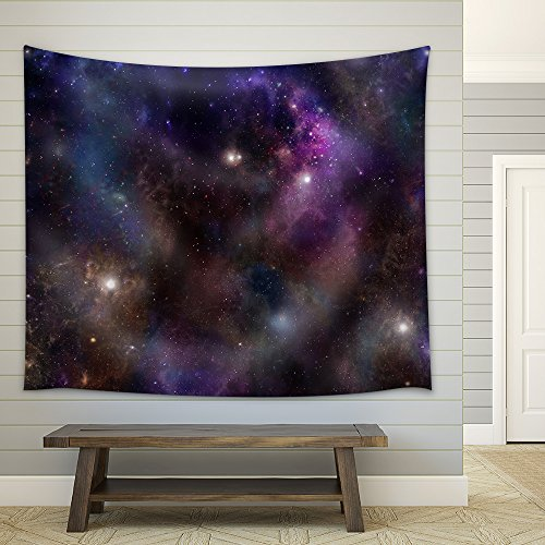 Deep Space banner background Fabric Wall