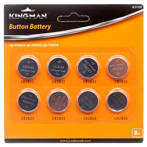 Kingman New 313912 Button Battery Power Cell 8Pcs (24-Pack) Batteries Wholesale Bulk Electronics Batteries Flexible