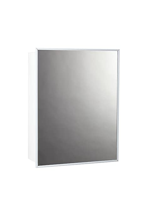 Amazon.com: Jensen 26018CHX Stainless Steel Frame Medicine Cabinet ...