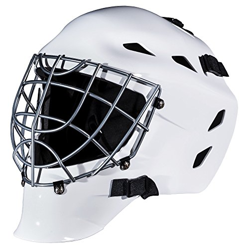 ey Goalie Mask - GFM 1500 - White (Franklin Goalie Equipment)