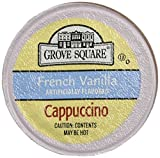 keurig cappuccino grove - Grove Square Cappuccino, Single Serve Cup for Keurig K-Cup Brewers( French Vanilla ) - 18 K-Cup pack