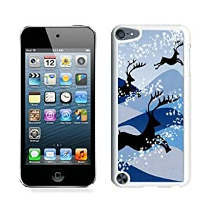 Popular Sell Design Christmas deer White iPod Touch 5 Case 2