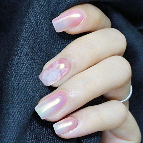PrettyDiva 7 Jar Pearl Powder Mirror Effect Chrome Nail Powder Metallic Nail Manicure Pigment by Pretty Diva (Image #7)
