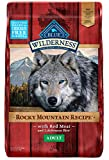 Image of Blue Buffalo Wilderness Rocky Mountain Recipe High Protein Grain Free, Natural Adult Dry Dog Food, Red Meat 22-lb