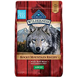 Blue Buffalo Wilderness Rocky Mountain Recipe High Protein Grain Free, Natural Adult Dry Dog Food