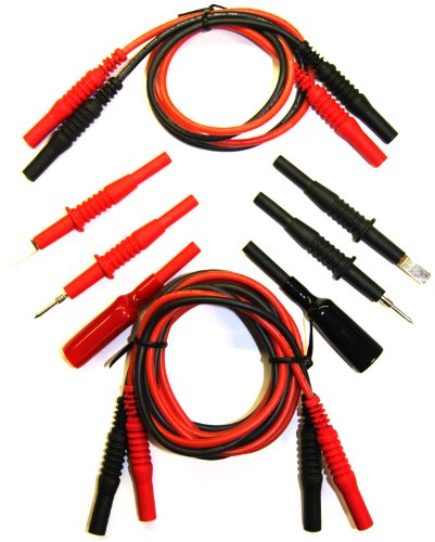 Triplett Premium Modular Test Lead Kit with Carry Case - Two 60
