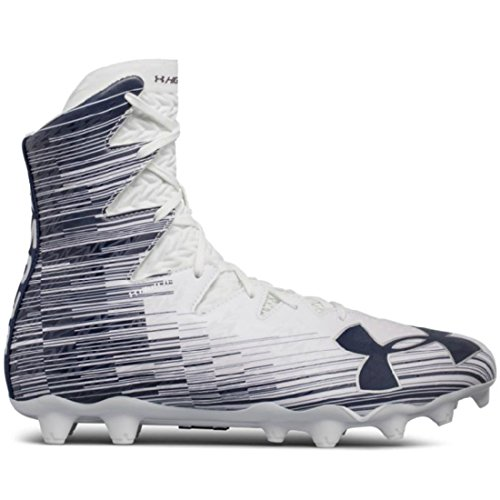 Under Armour Highlight MC Lacrosse Cleat - White/Navy-8