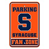 NCAA Syracuse Orange Parking Sign, One Size, Orange