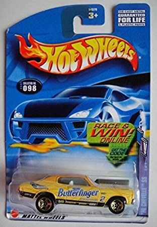 2002 Hot Wheels /'70 Chevelle SS Butterfingers #098    Combine Shipping