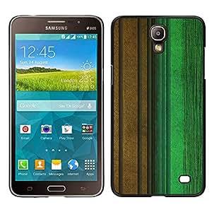 Samsung Galaxy Mega 2 / SM-G750F / G7508 Único Patrón Plástico Duro Fundas Cover Cubre Hard Case Cover - Calm Pastel Green Brown Teal