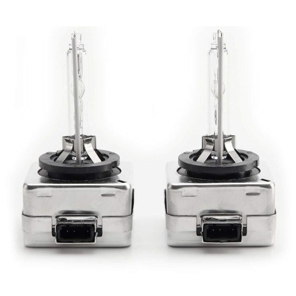 HSUN D1S HID Xenon Replacement Lights,12V 35W Headlight Bulbs Lights,6000K White