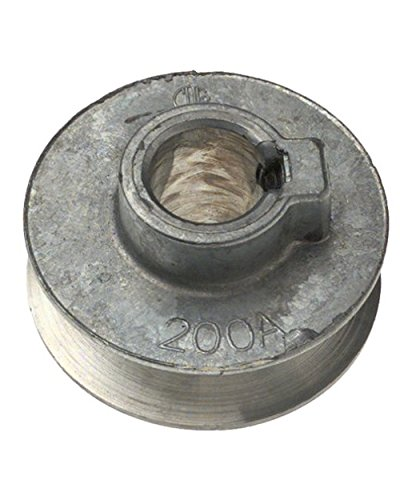 Single V Grooved Pulley, 3/8""
