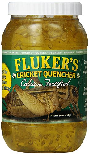 - Fluker's 71201 Cricket Quencher Calcium Fortified, 16oz