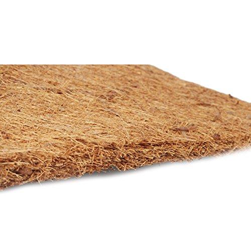 Ocamo 60x40CM Pet Natural Coconut Mat Reptile Box Breathable Bedding Line for Turtles, Reptilia and Small Animals by Ocamo (Image #2)