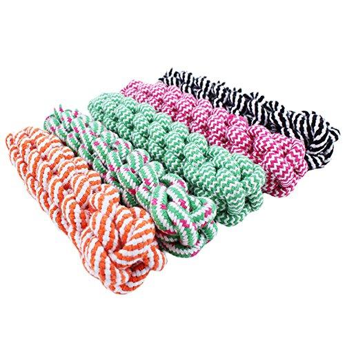 - Large Dog Toys Rope Dog Toy - 21cm Rope Dog Tug Toys Pets Puppy Chew Braided Tug Toy For Pets Dogs Training Bait Toys - Dog Rope