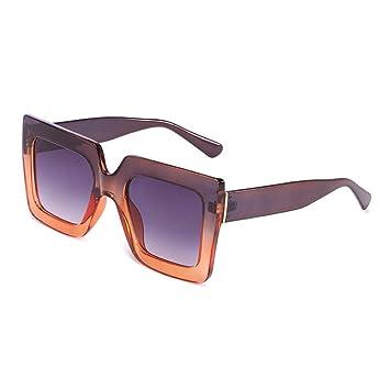 QDE Gafas de sol Gafas De Sol Extragrandes para Mujer ...