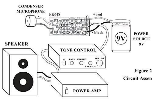 amazon com condenser microphone kit with pre amp unassembled rh amazon com