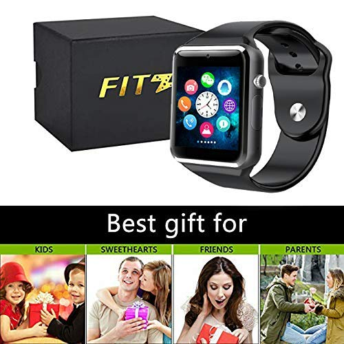 Sport Touch Screen Smartwatch Waterproof Bluetooth Smart Watch Phone with Camera Cell Phone Watch for iPhone/iOS/iPhone/Samsung/Android (Best Smart Watches That Look Like Watches)