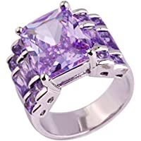 Na Na Nubngen Siam panva Exquisite Fashion Tourmaline Gemstone AAA Silver Ring Size 6 7 8 9 10 11 12 13 (7)