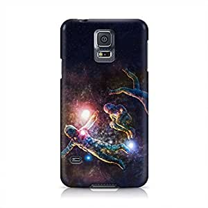 Astronaut Space Hard Plastic Snap-On Case For Samsung Galaxy S5