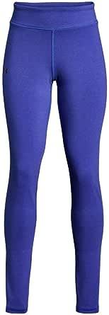Under Armour Leggings de punto favorito para niñas, color morado, XL (18-20 niños grandes) x talla única