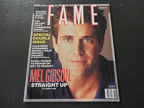 Fame Summer 1990 Mel Gibson, Ascot Scandal, Pre-Nup Or No