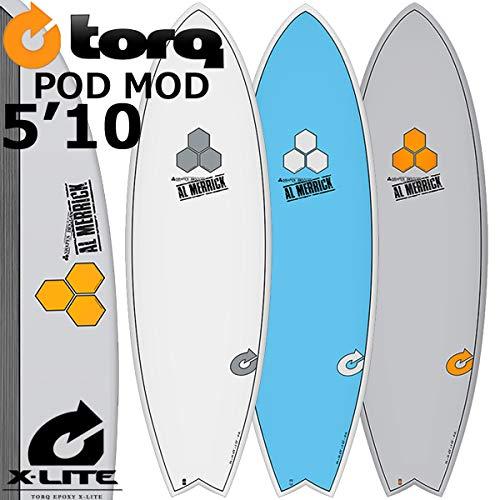 【限定品】 TORQ SurfBoard トルク PINLINE] サーフボード POD MOD 5'10 サーフボード [GRAY PINLINE] 5'10 AL MERRICK アルメリックサーフボード B07CJDMGPZ, 三川村:0cce83c8 --- ciadaterra.com