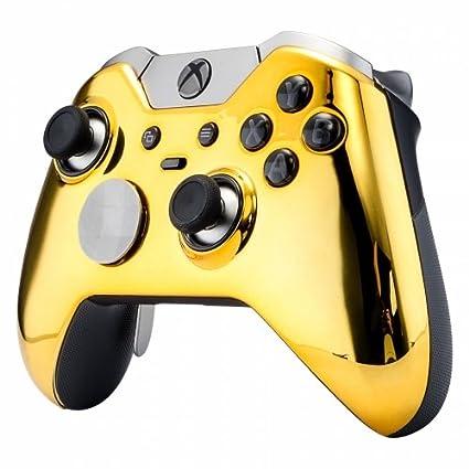 Amazon com: Custom GOLD Xbox One Elite Controller UN-Modded
