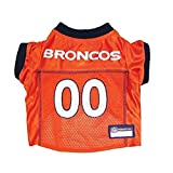 DENVER BRONCOS Dog Jersey ★ ALL SIZES ★ Licensed NFL (Large)