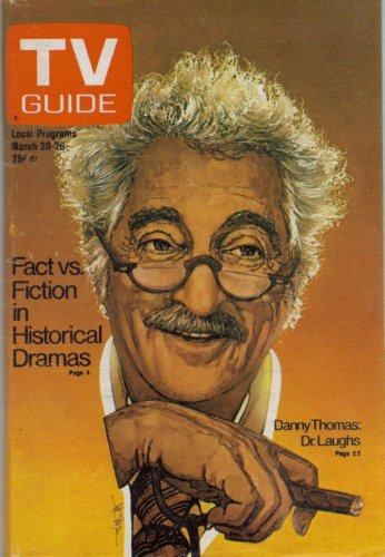 - TV Guide March 20-26, 1976 (Danny Thomas: Dr. Laughs; The Decline and Fall of Beacon Hill; TV's Historical Dramas: Fact or Fiction?, Volume 24, No. 12, Issue #1199)