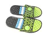 DINY Home & Style Men's Slip-On Slide Sandals Beach Sport Shoes Flip Flops Slippers (12, Green)