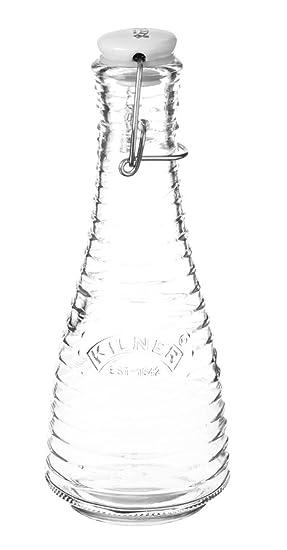 Kilner Clip Top frascos de cristal botellas de leche jarra de Gin de botes de Perfume