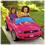 Fisher-Price® Power Wheels Barbie Ford Mustang