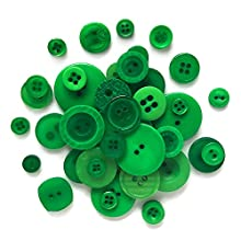 Buttons Galore and More Basics & Bonanza Collection – Extensive Selection of Novelty Round Buttons for DIY Crafts, Scrapbooking, Sewing, Cardmaking, and Other Art & Creative Projects