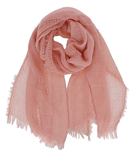 7 Seas Republic Women's Solid Oblong Lightweight Scarf