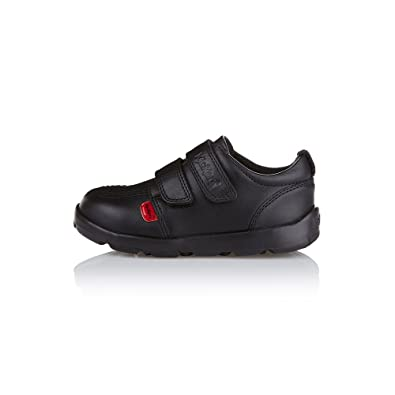 d0829fbb1a Kickers Boys (Infants) Jiri Duo Leather Black School Shoes: Amazon.co.uk:  Shoes & Bags