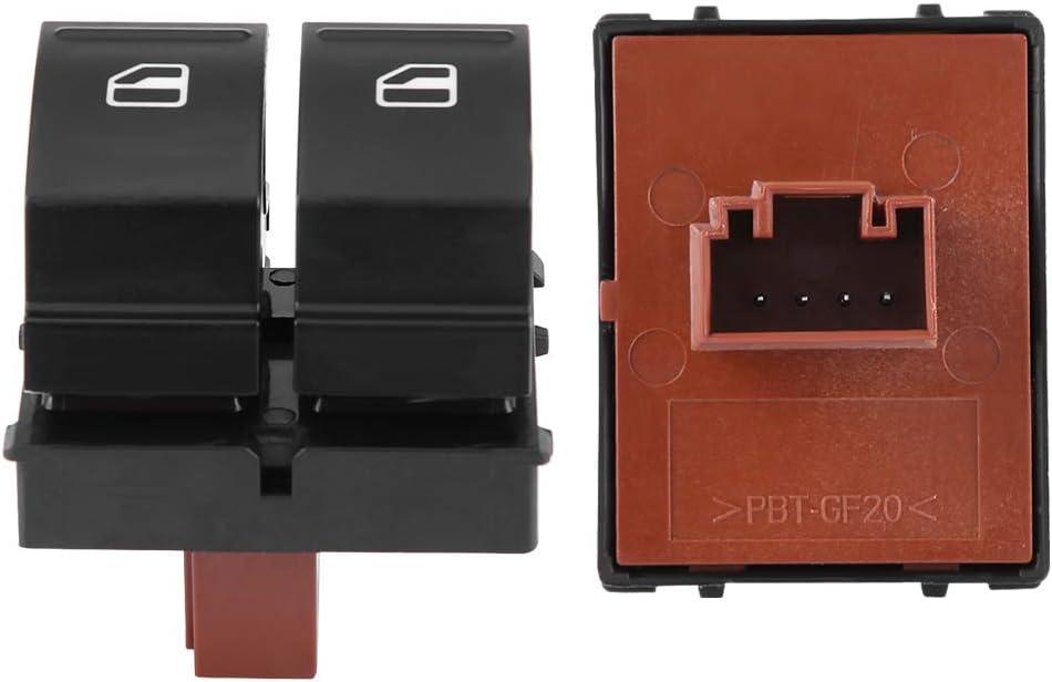 Interruttore alzacristallo elettrico interruttore elettrico Interruttore a pulsante per finestra per 2 Roomster 1Z0959858