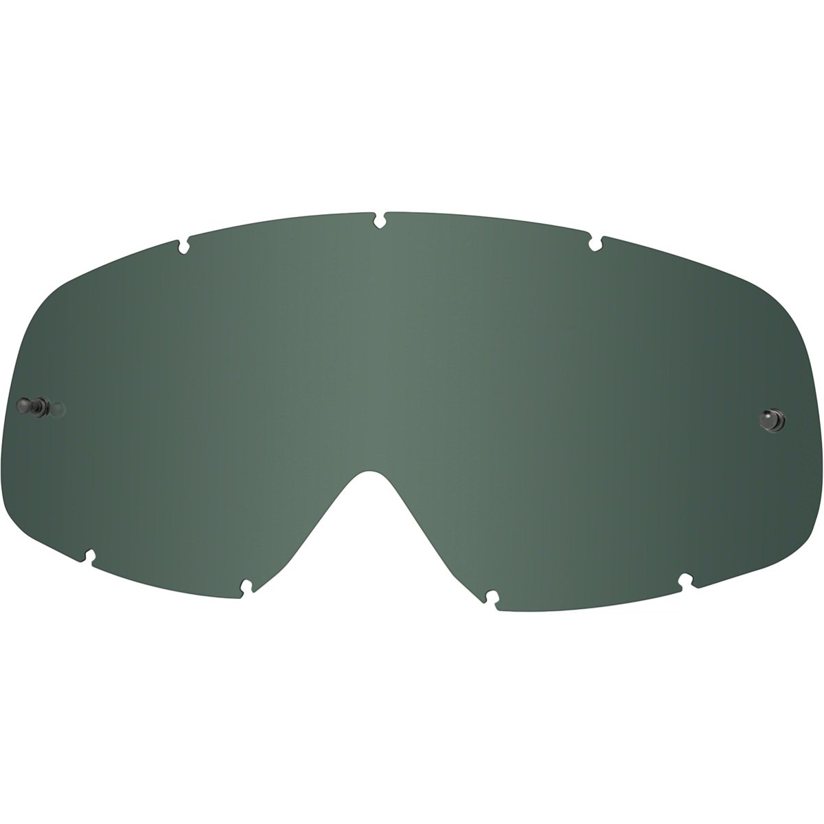 Oakley XS O-Frame MX Replacement Lens (Dark Grey, One Size)
