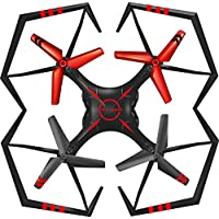 Owill YD A25 6-Axis Gyro RC Quadcopter RTF Flying Toys Anti Impact Helicopter For Kids Casual Life (Red)