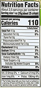 365 Everyday Value Organic Lightly Salted Pea Crisps 33 Ounce from Cherry