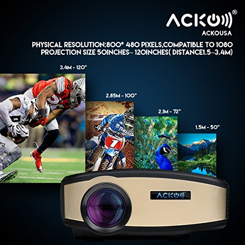 Acko Portable Mini Led Projector