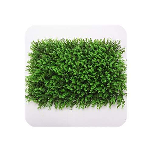 (4060Cm Artificial Green Wall Plants Eucalyptus Leaf Bouquet Fake Plant Wedding Backdrop Decor Hotel Shop Window Flower Wall,O)