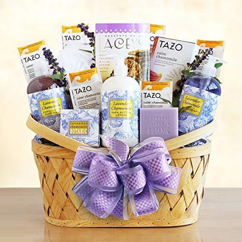 Fields of Lavender Spa Gift Basket ()